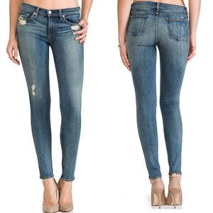 Rag and Bone The Skinny in Destroyed Jeans SZ 25